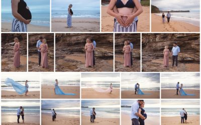 Sunrise Maternity session to document this special time