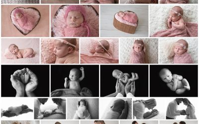 A last minute newborn session for Sofjia